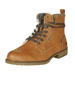 bottines montantes marron