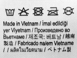 étiquette composition jean