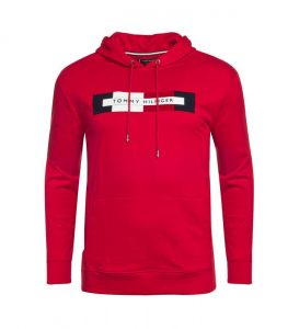 Sweat rouge Tommy Hilfiger