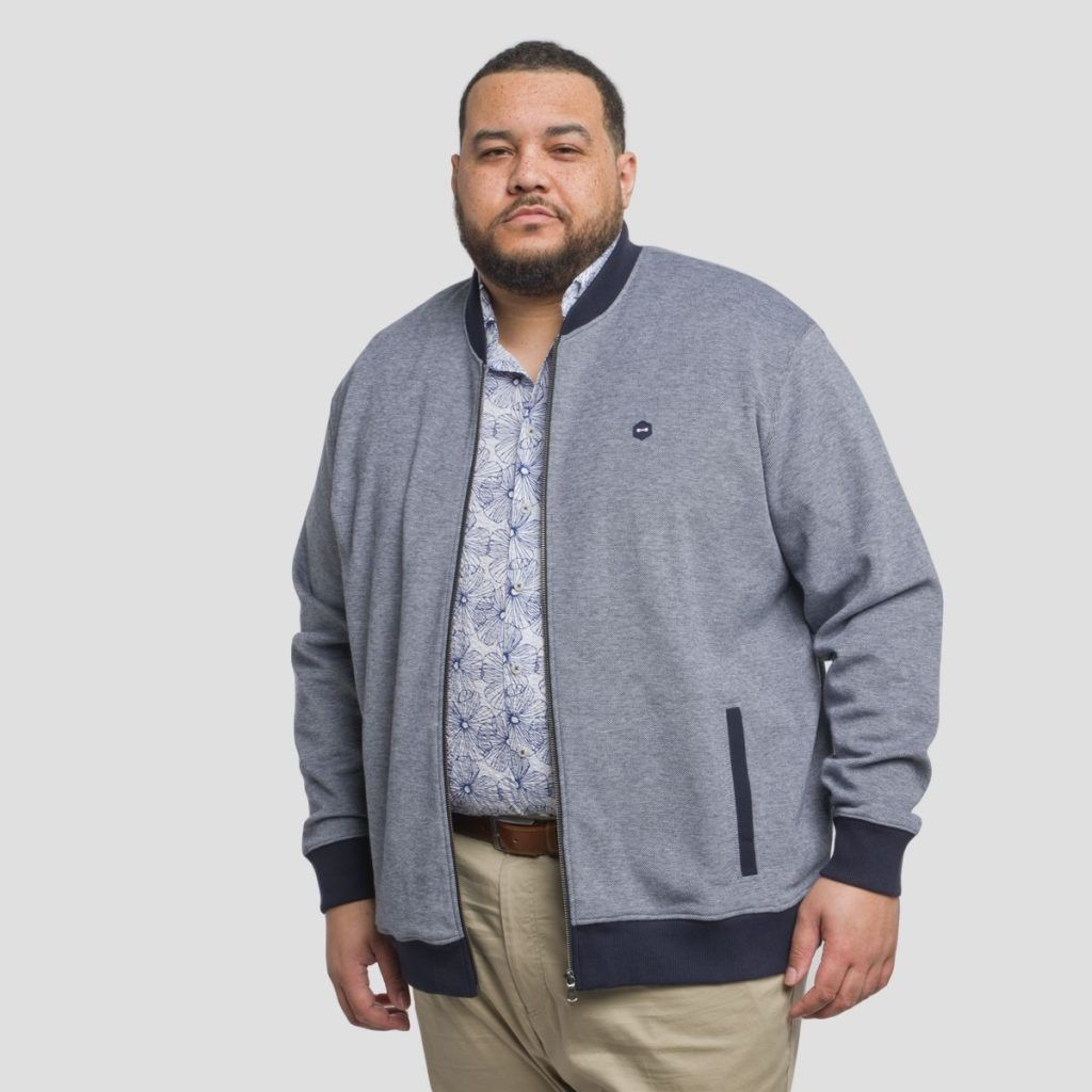 cardigan homme grande taille